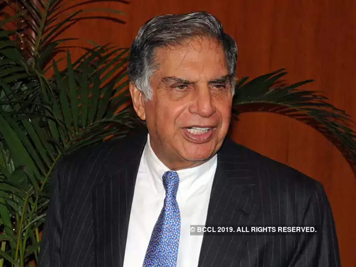 I am an accidental startup investor: Ratan Tata
