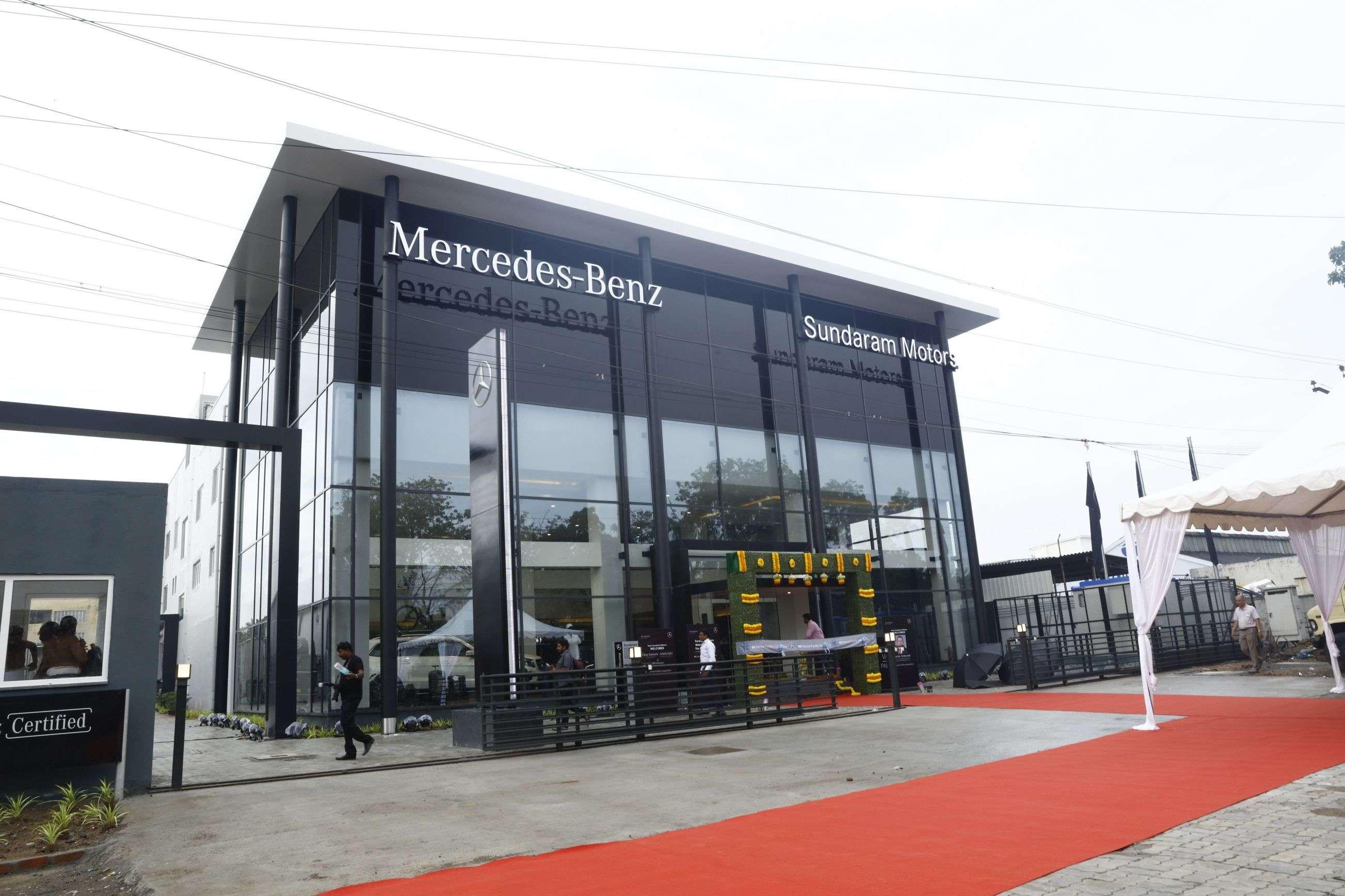 Mercedes-Benz: Mercedes-Benz launches its biggest 3S showroom in ...