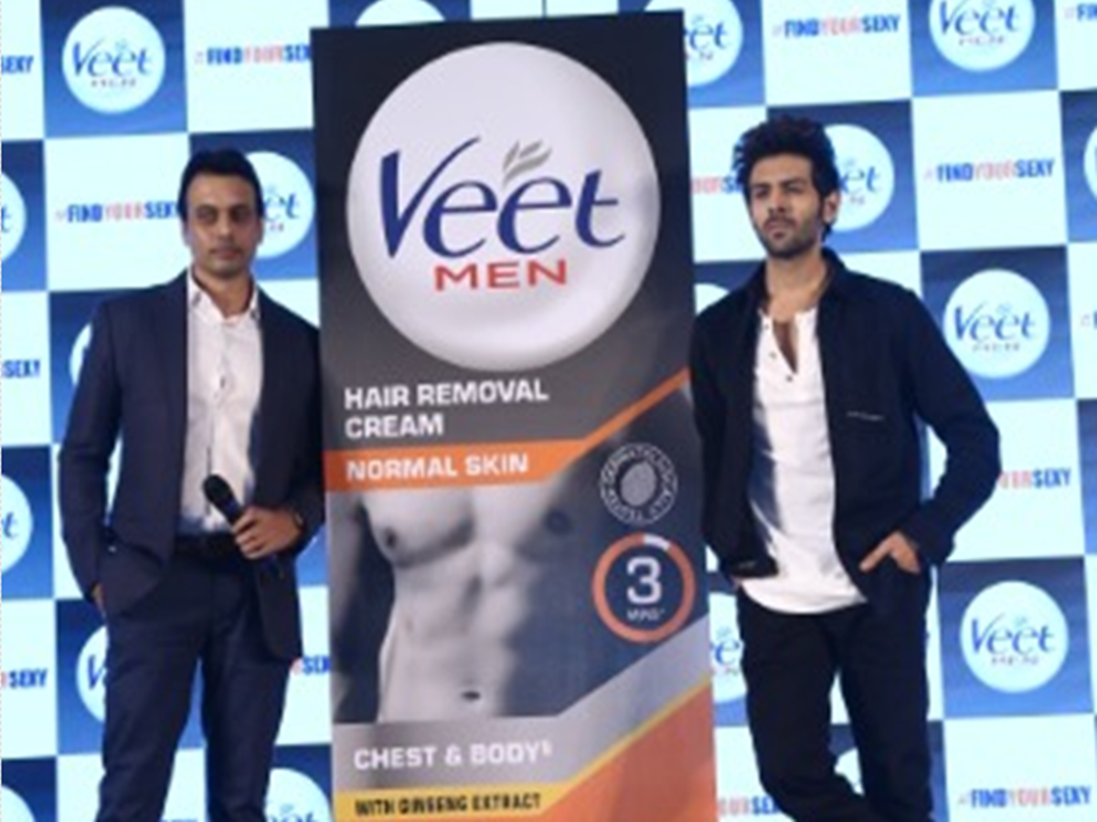 Brand Campaign With Kartik Aaryan As Brand Ambassador Veet