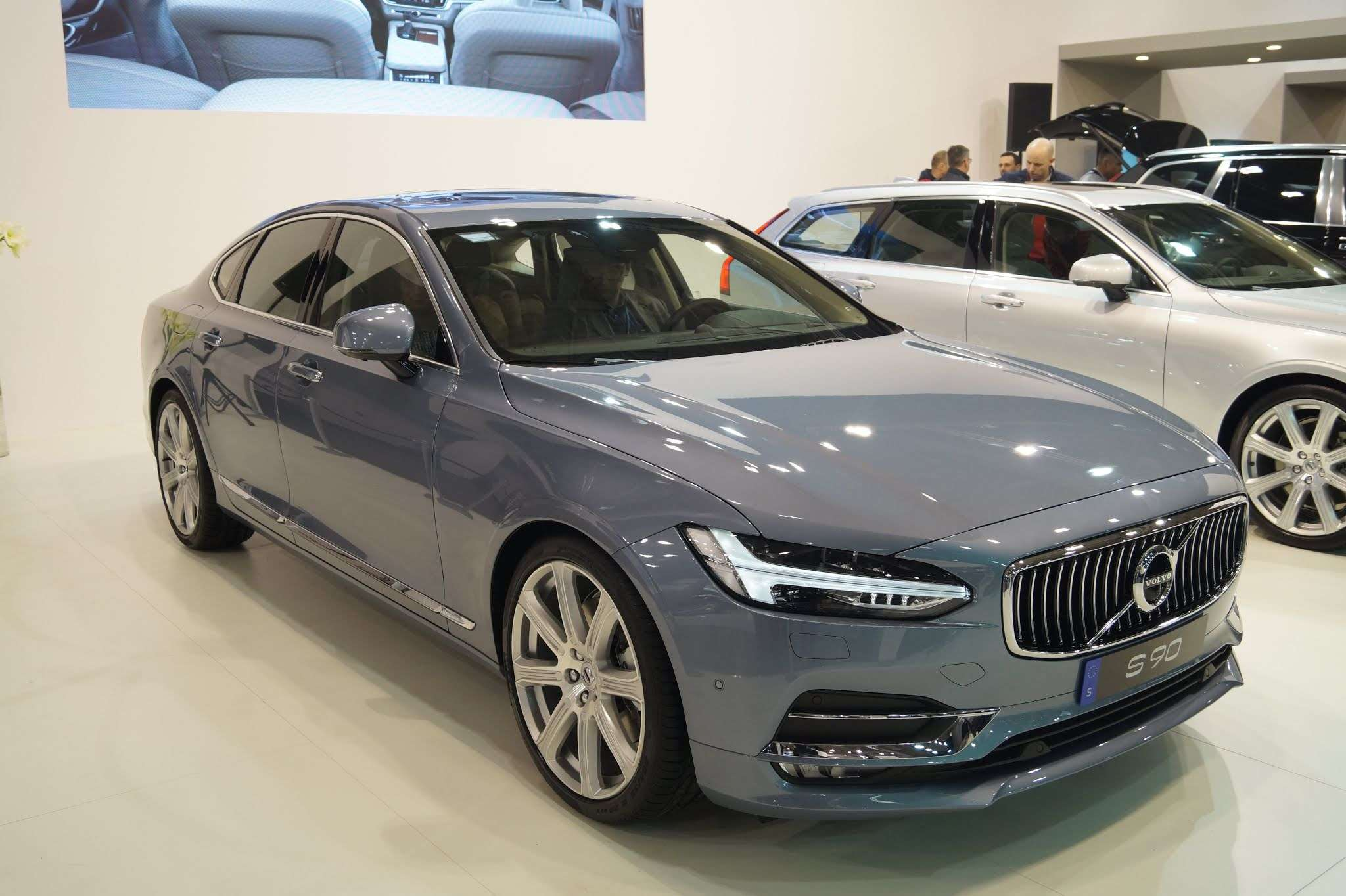Volvo S90 T8 Volvo S90 T8 Plug In Hybrid Becomes The Official Car Of The Ambassador Of Sweden To India Auto News Et Auto