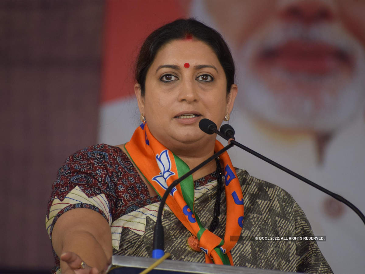 India's apparel exports to EU face a duty disadvantage: Smriti Irani