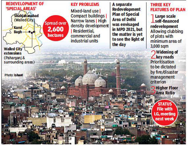 Redevelopment plan for three areas in Delhi gathers pace
