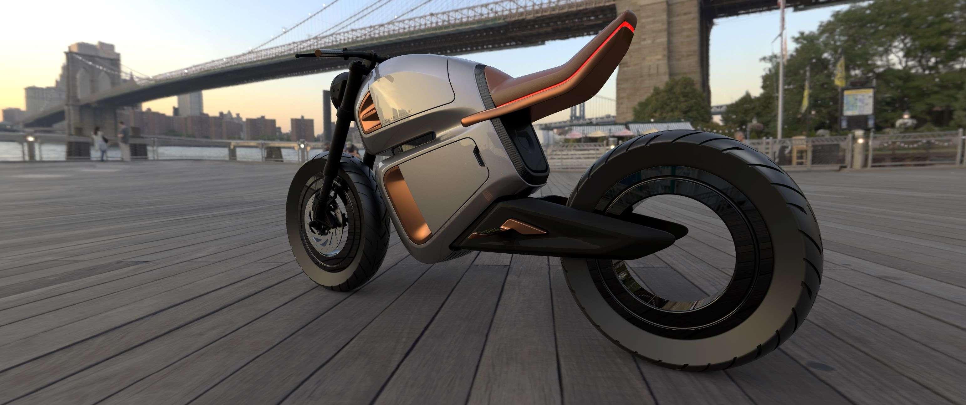 Electric Bike Concept Nawa Technologies Unveils New Electric Bike Concept At Ces 2020 Auto News Et Auto