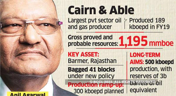 Cairn hunts for big oil partner via stake sale