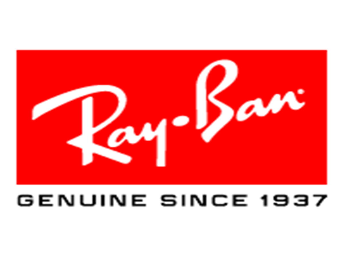 Ray Ban - Logo of the ascending formation.
