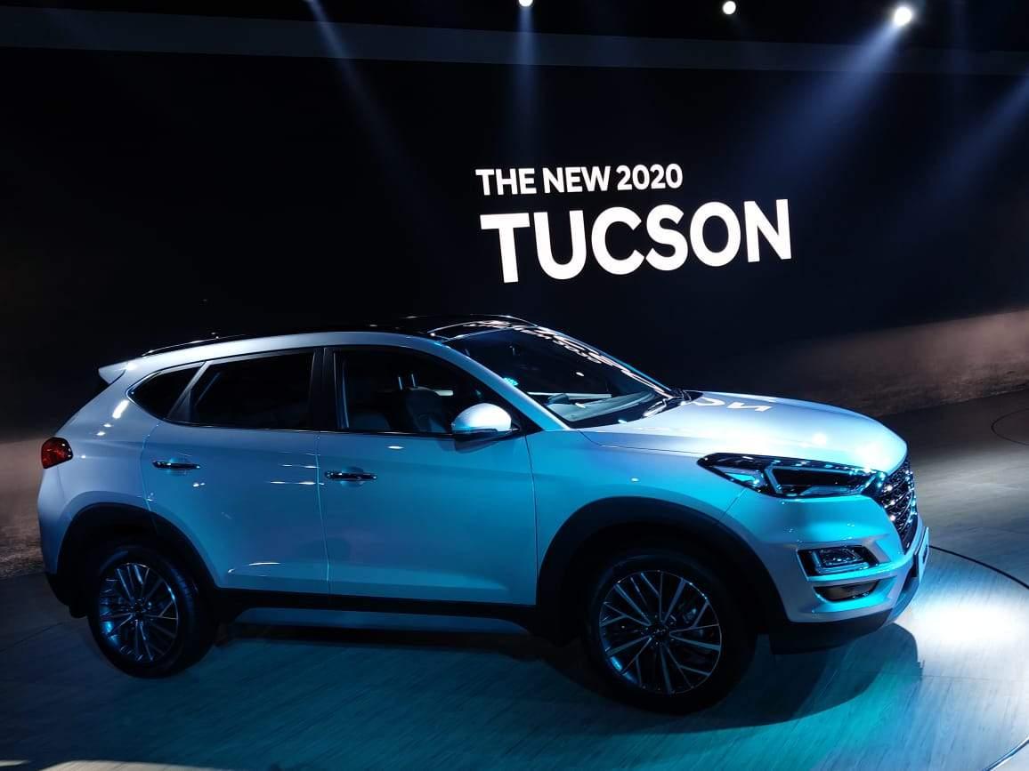 Hyundai At Auto Expo Hyundai Unveils The New 2020 Tuscon At Auto