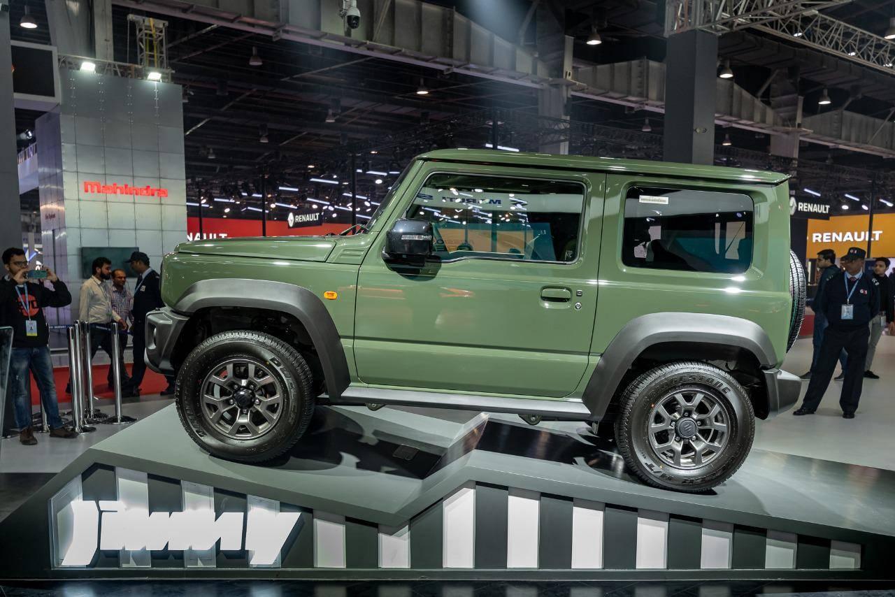 Image result for auto expo show 2020 suzuki jimney
