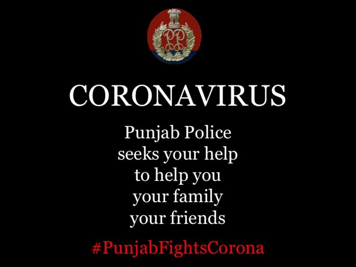 Punjab police gets aggressive in its campaign to spread awareness around coronavirus outbreak.
