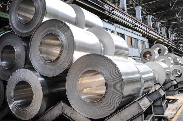 Global crude steel production for the 64 countries reporting to the association was 143.29 MT in February 2020, a rise of 5.4 per cent, compared to 154.46 MT in May 2018, it said.