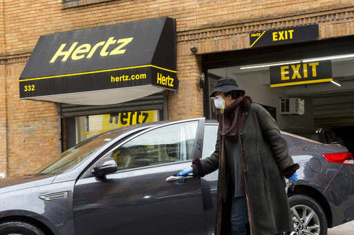Hertz Car Rental Company Hertz In Talks With Banks For New Financing Amid Travel Bans Auto News Et Auto