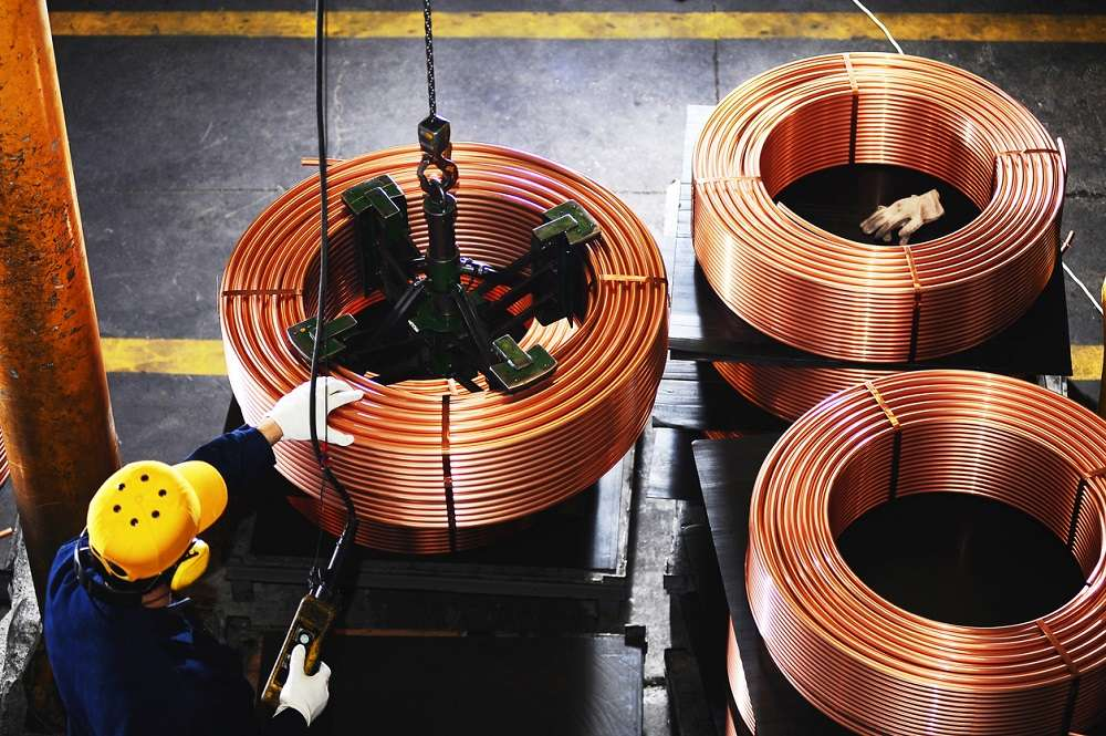Three-month copper on the London Metal Exchange (LME) was up 1.5 percent to $4,838.50 a tonne, as of 0124 GMT, reversing a streak of three straight losses.