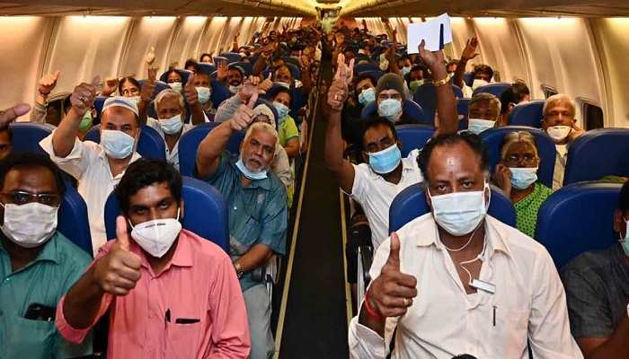 Vande Bharat Mission: 8,503 Indians return from abroad in 43 flights since  May 7, Government News, ET Government