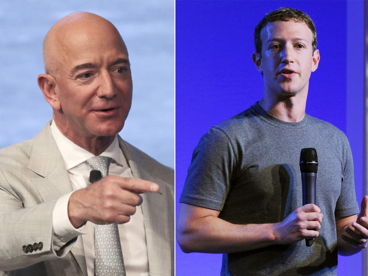 Facebook, Amazon chiefs see wealth balloon amid pandemic: Report
