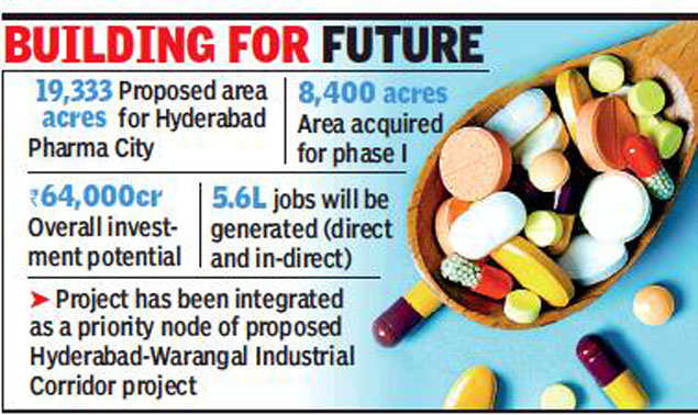 Hyderabad Pharma City project to be fast-tracked