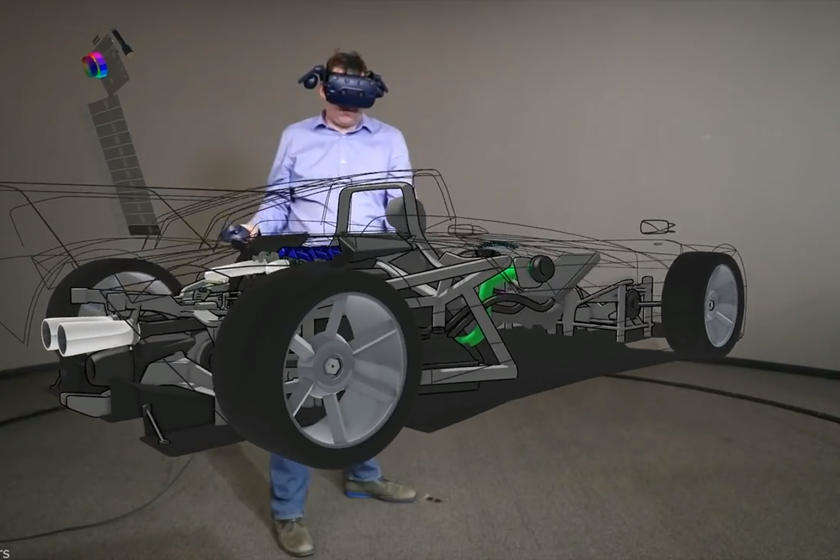 Ford engineers have been using virtual-reality headsets at home for collaborative design sessions.
