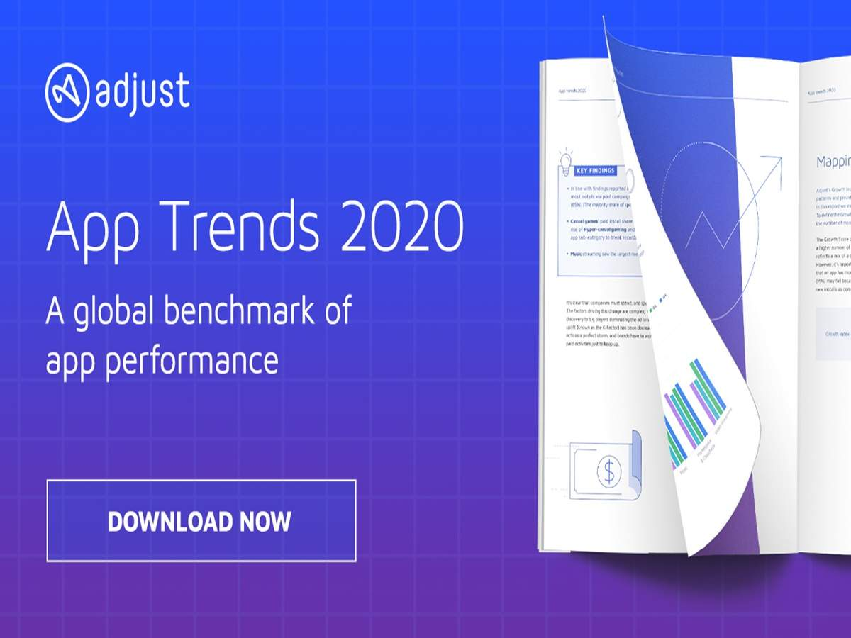 Adjust's newly released App Trends 2020 report provides a detailed insight into the latest trends and how they are influencing app development, and audience engagement, at every level.