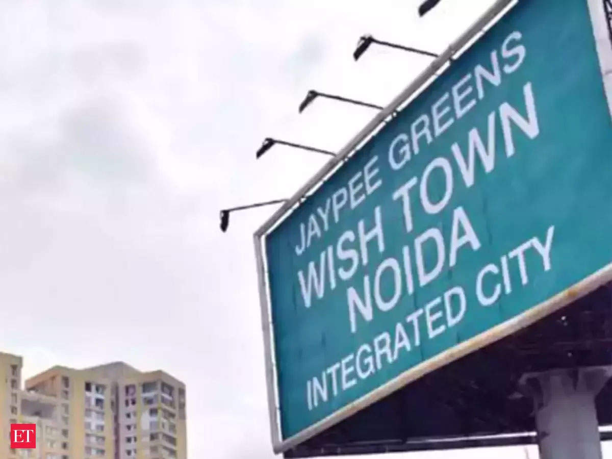 Noida: 2,000 Wish Town flats ready, buyers not taking keys, claims Jaypee Infratech
