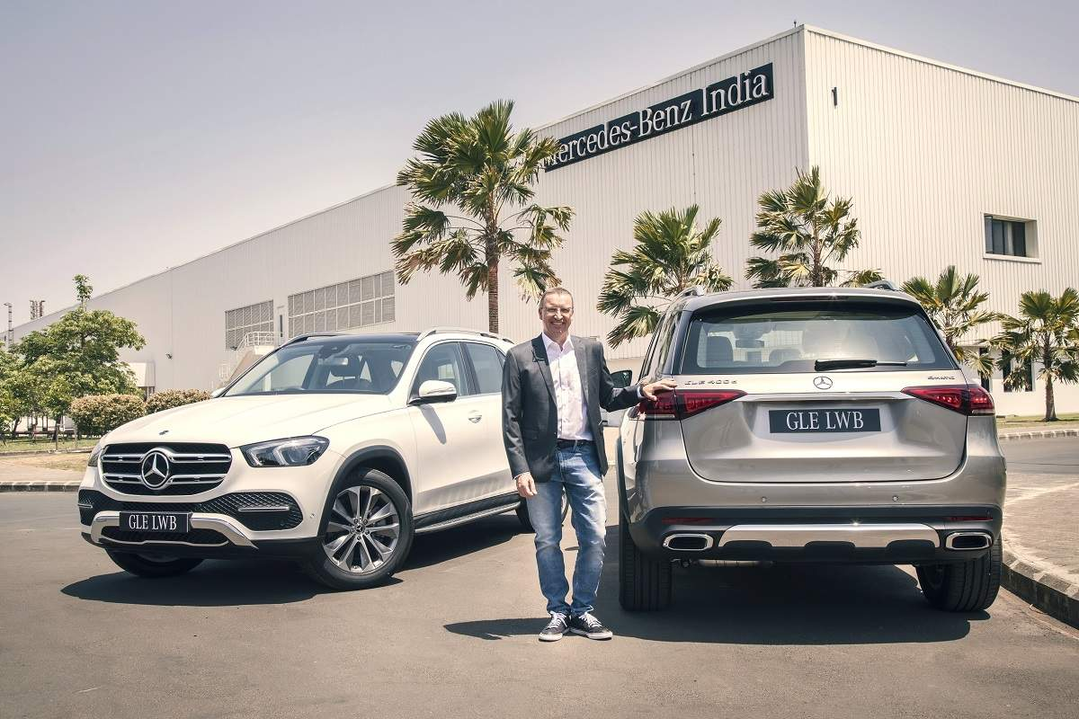 Mercedes Benz Gle Price Mercedes Benz India Launches Gle Lwb Suv Variants Price Starting At Rs 88 8 Lakh Auto News Et Auto