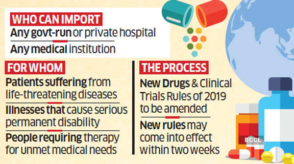 Government may soon allow import of untested drugs under trial