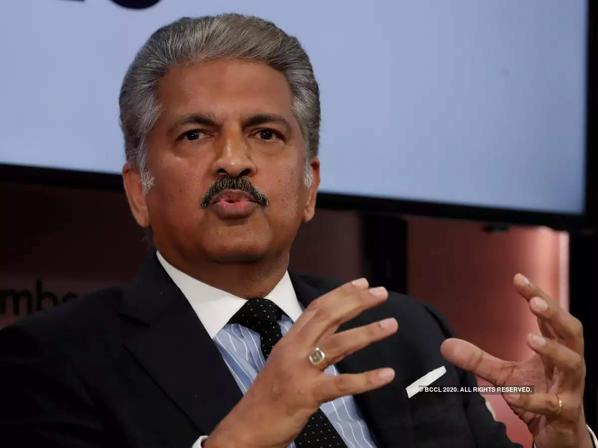 """""""In these uncertain times this news is a morale booster. Let's not forget our country's potential & let's use this resource wisely to get back on the growth path,"""" said Mahindra."""
