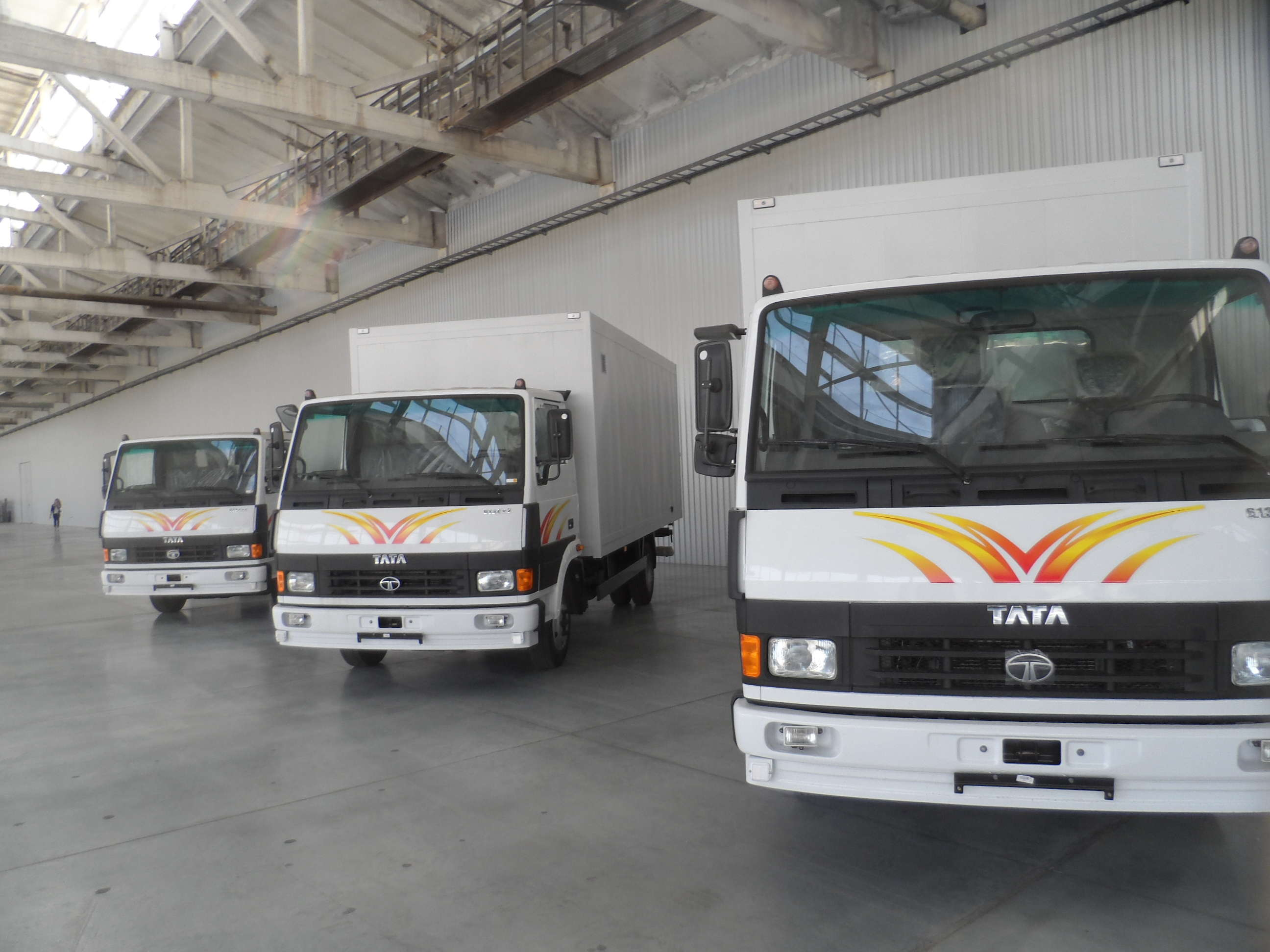 According to sources, in a team of 128 Dronas' (associates) in one of its agencies in its commercial vehicle business unit, the company has terminated services of 110 of these.