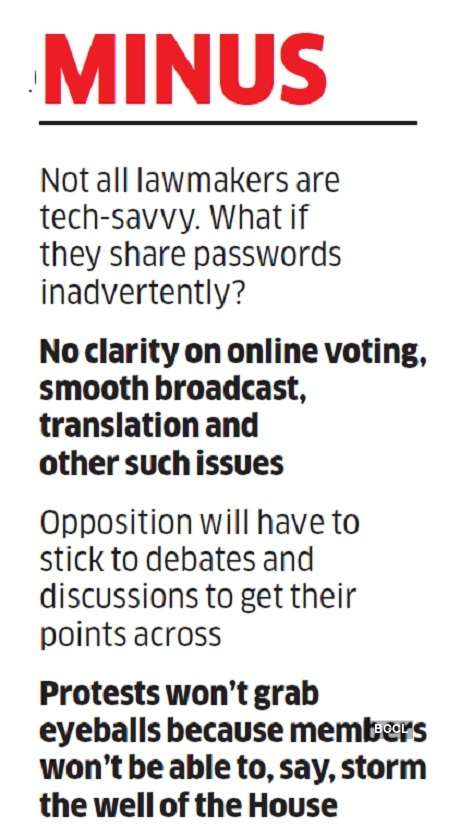The challenges of holding a virtual Parliament session