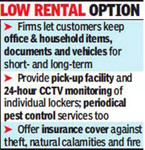 Storage-on-rent in demand as work from home techies leave Bengaluru