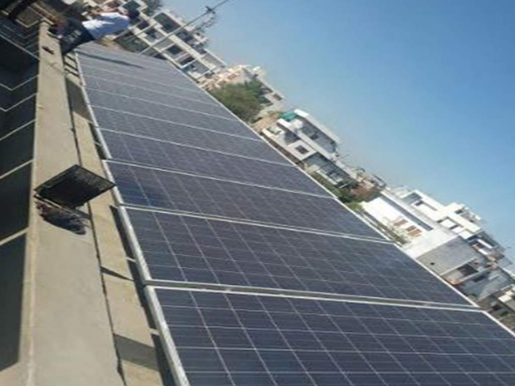 Height norms eased to encourage rooftop solar panels installation in Delhi – ET RealEstate