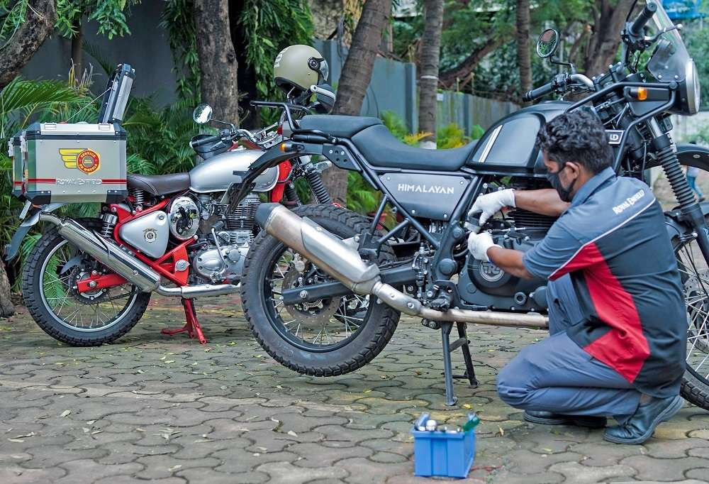 Royal Enfield Service-2