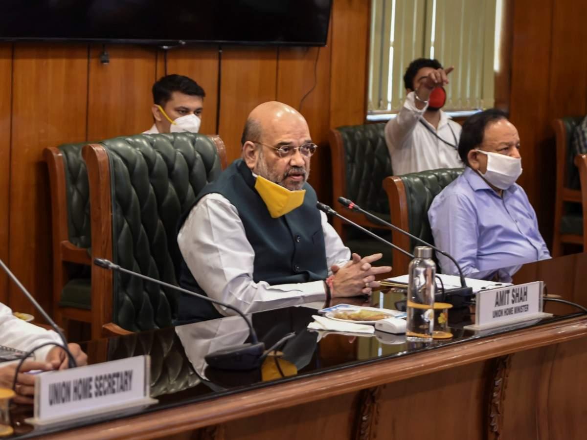 Home Minister Amit Shah hospitalised with coronavirus