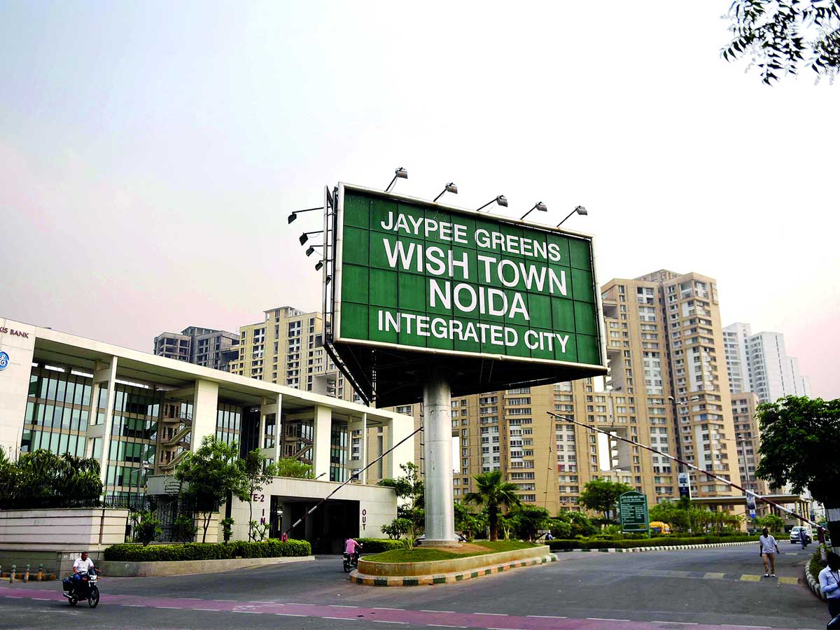 Noida: Jaypee Wish Town buyers left in lurch as construction gets stalled – ET RealEstate
