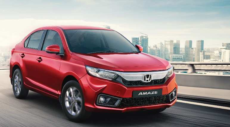 Honda Amaze Honda Amaze Compact Sedan Sells 4 Lakh Units In India Auto News Et Auto