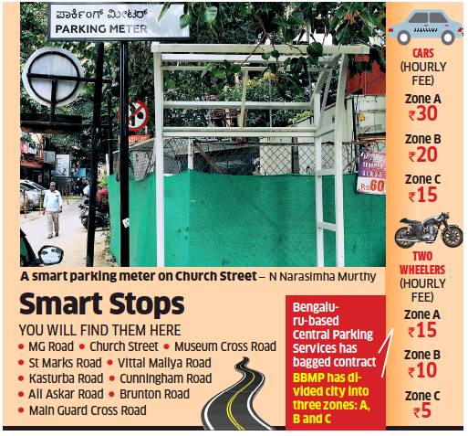 BBMP to roll out app-based paid parking services in Bengaluru