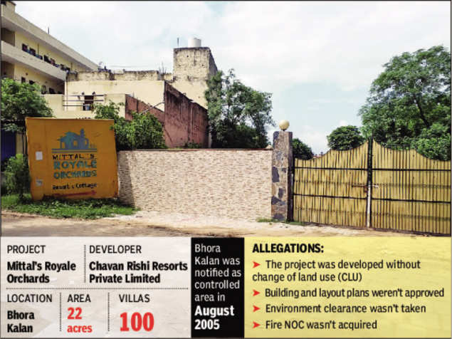 Haryana: Around 100 villas in Royale Orchards under DTCP scanner