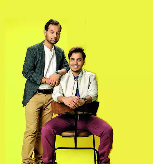 Sibabrata Das and Manoj Meena (Sitting)