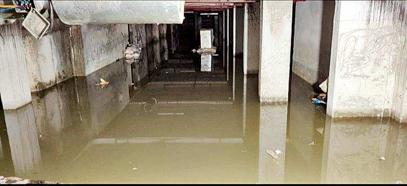Residents stranded as basement of Jaypee Wish Town's Kensington Park gets flooded – ET RealEstate
