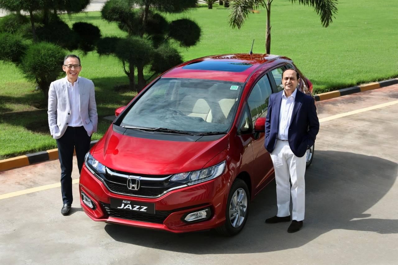 Honda Jazz Honda Cars India Launches New Jazz Premium Hatchback Price Starts At Rs 7 49 Lakh Auto News Et Auto
