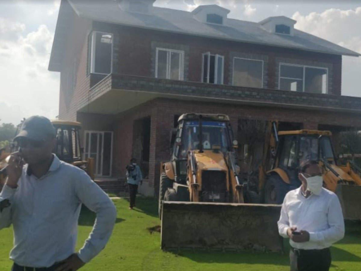 Gurugram: Razed Aravali farmhouses had jacuzzis, lounges – ET RealEstate