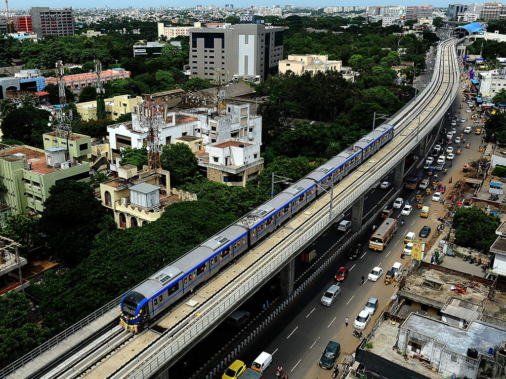 Chennai Metro to construct 12-storey office and retail space – ET RealEstate
