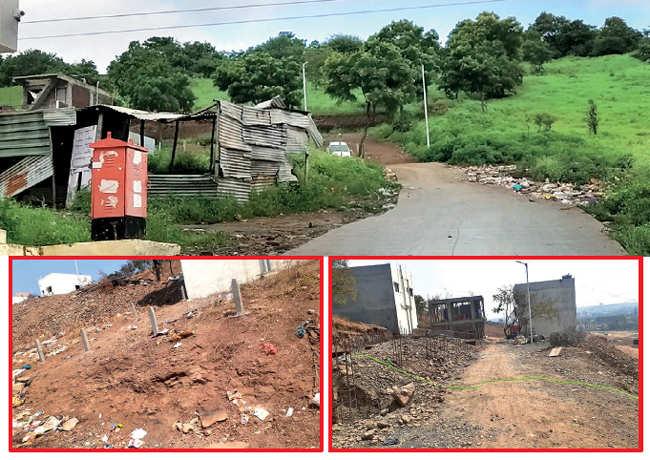 Pune: Landowners create 100 illegal small plots on Sutardara hillock