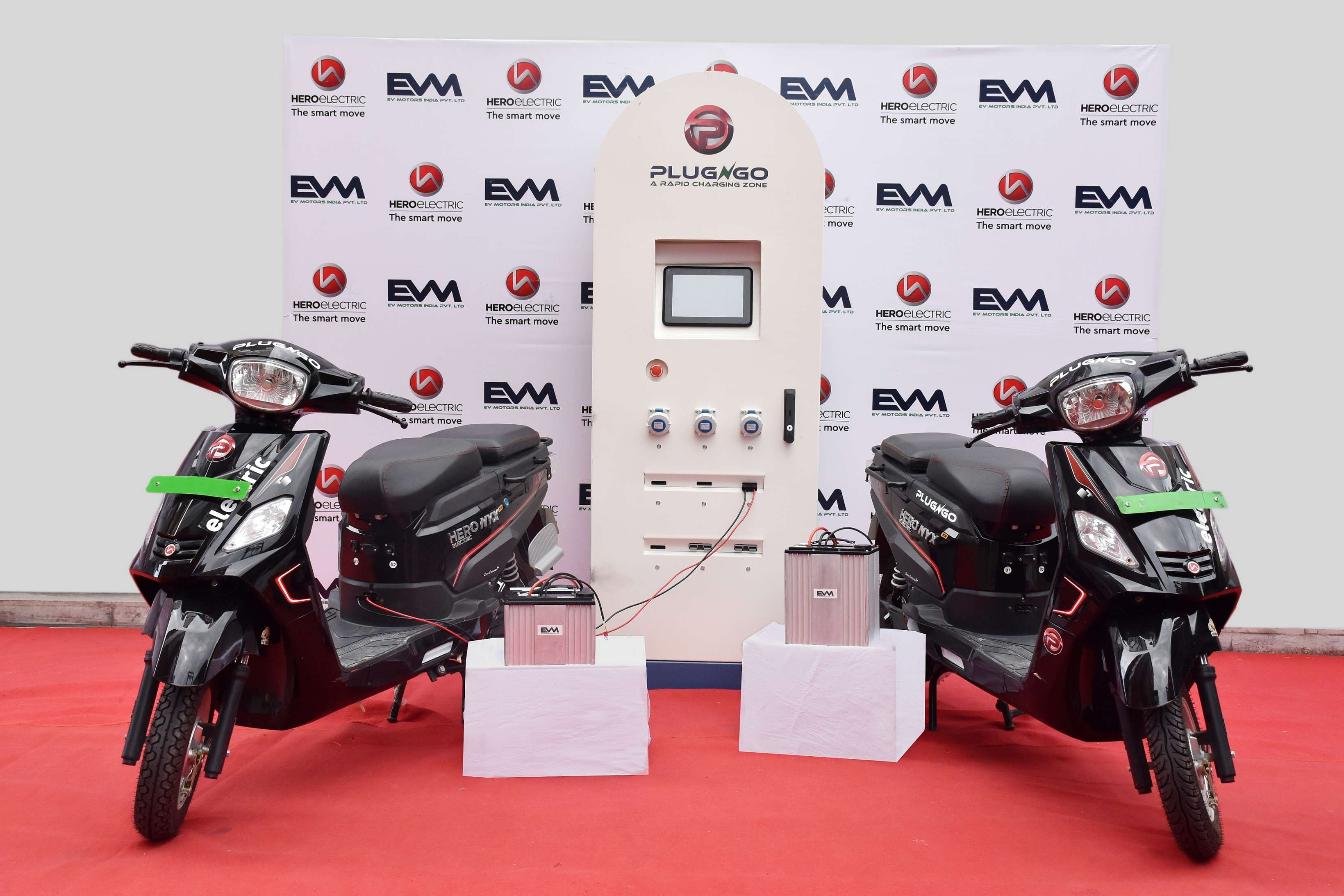 As part of the partnership EVM will be integrating its batteries with Hero e-bikes that can be supercharged in less than 30 minutes using the rapid charging station network PlugNgo being set up by EV Motors, a company statement said.