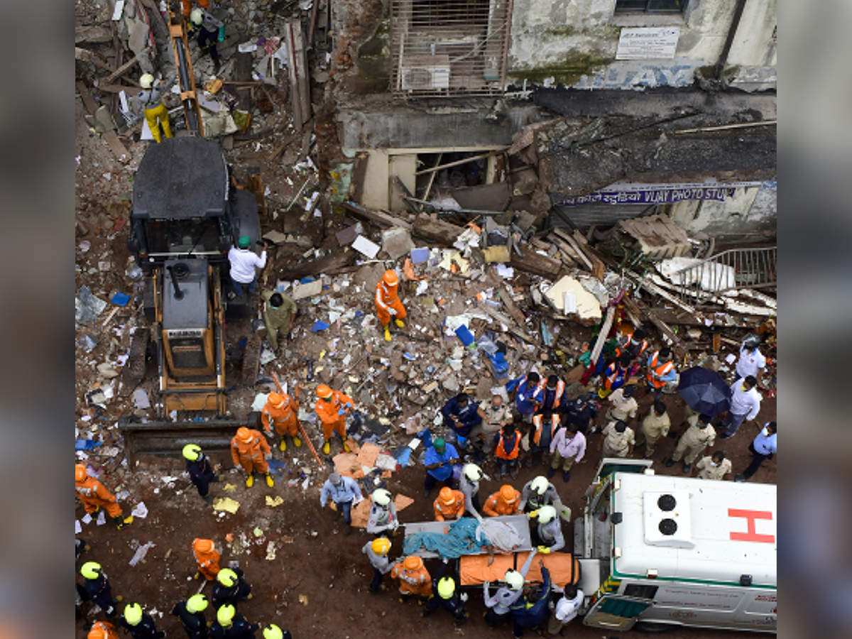 Mumbai: Bhanushali building collapse survivors' struggle for flats continues – ET RealEstate