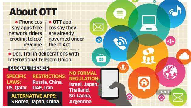Trai rules out need to regulate OTT players, for now