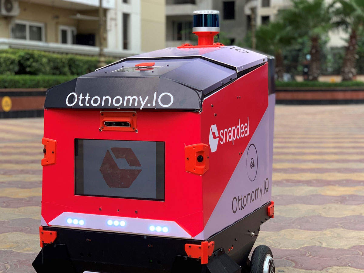 These robots use machine learning, fuse data from 3D Lidar and cameras to have an understanding of the external world.