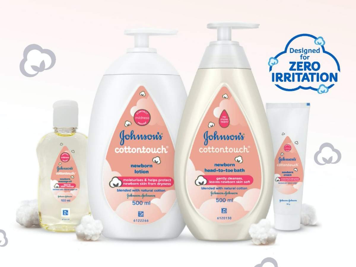 Johnson's Baby has released a new campaign for its new range of products