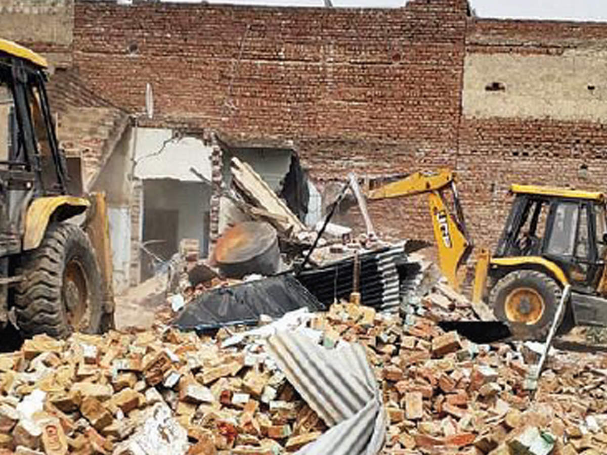 As 200 illegal colonies razed, thousands lose homes in Gurugram & Faridabad – ET RealEstate