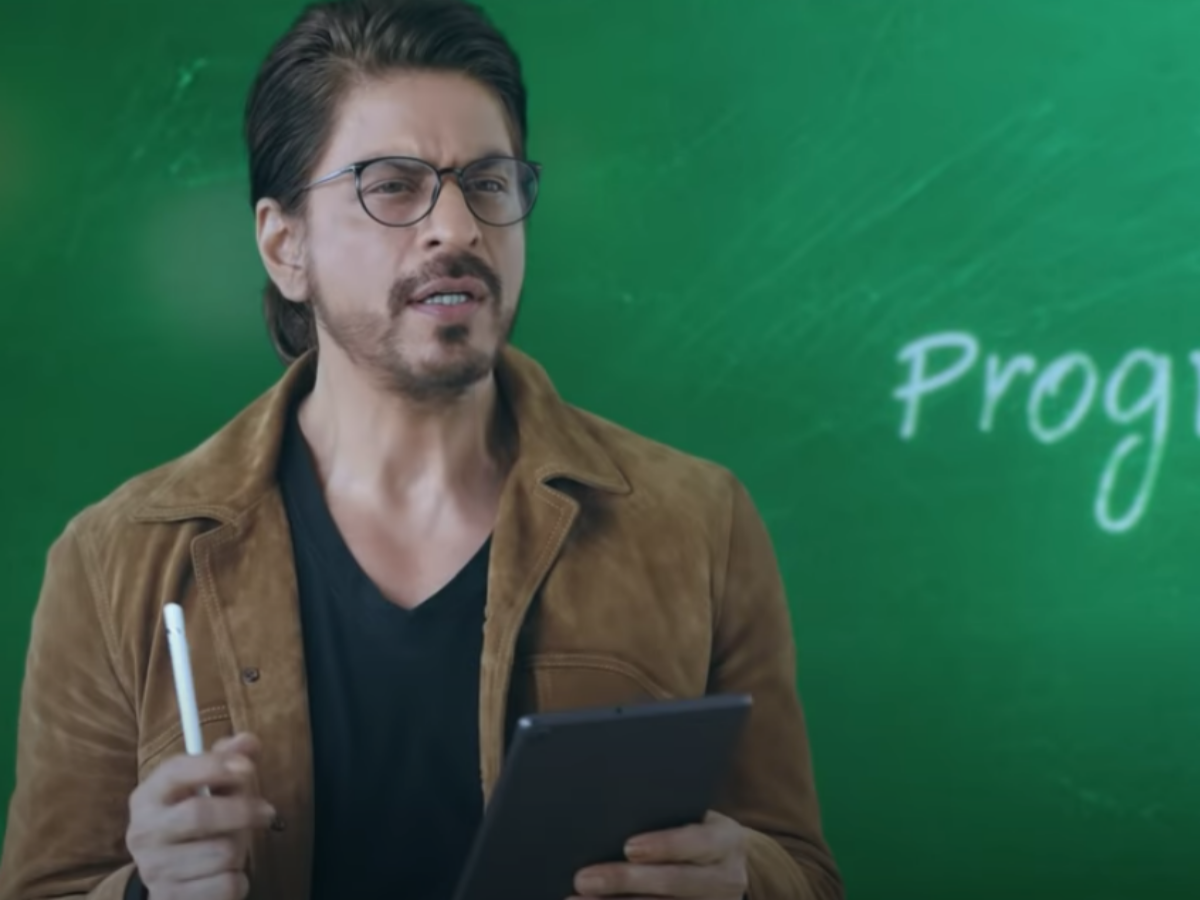 Shah Rukh Khan becomes teacher in Byju's new ad highlighting after-school learning, Marketing & Advertising News, ET BrandEquity