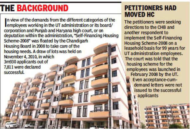 Chandigarh administration employees reject 11-storey housing proposal