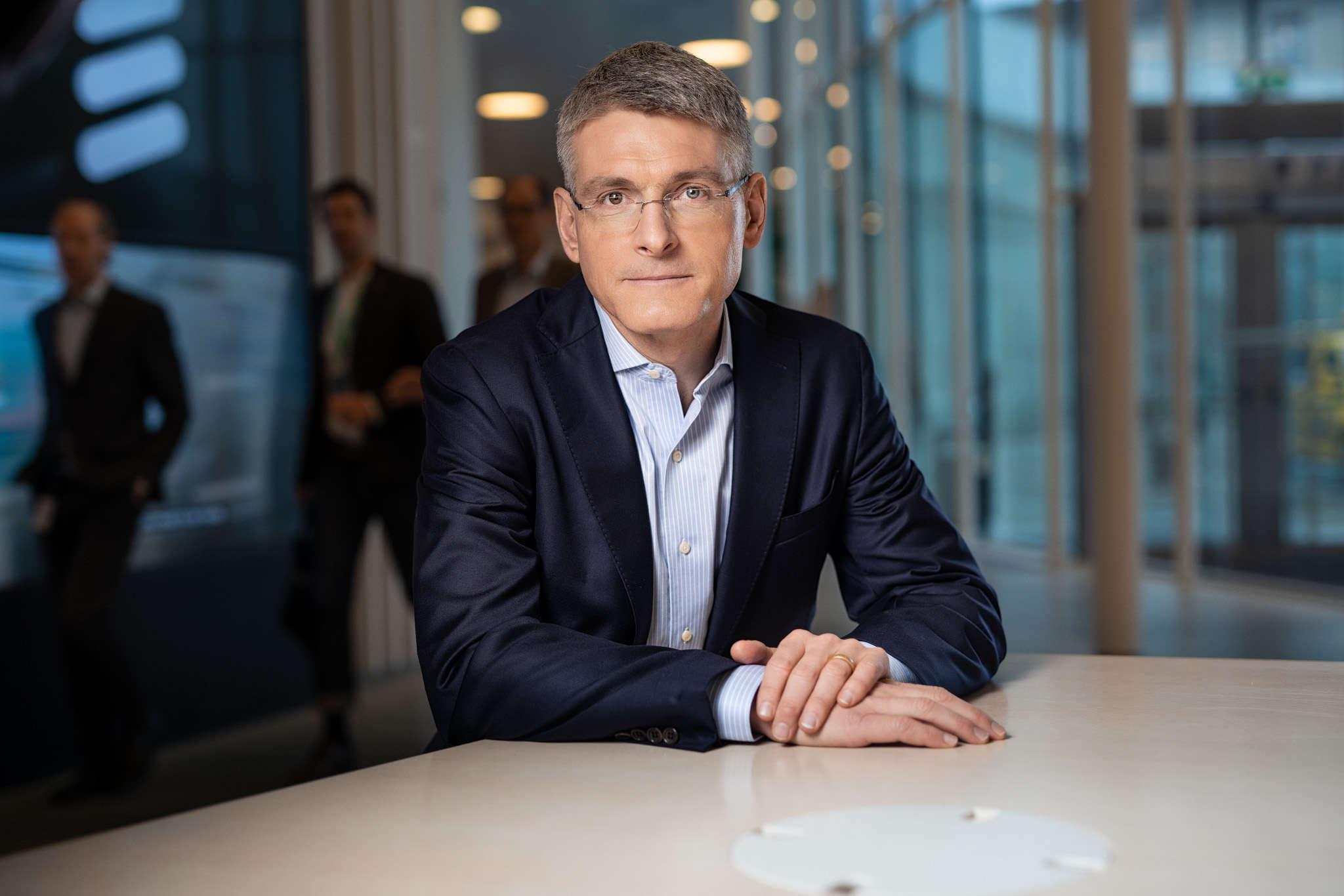 Erik Ekudden, Group CTO, Ericsson