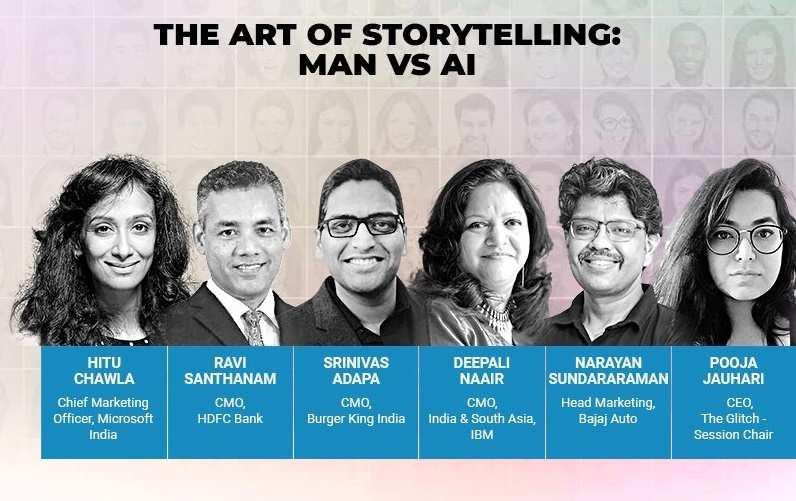 Brand World Summit: The art of storytelling- Man vs AI